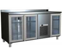 Холодильный стол Полюс Carboma 3GNG/NT