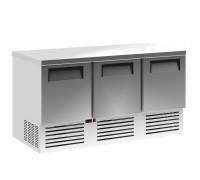 Холодильный стол Полюс TM2GN-2-11 INOX