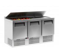 Холодильный стол Полюс TM2GNsal-2 INOX