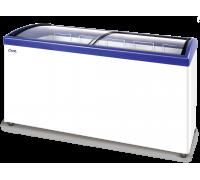 Ларь морозильный с гнутым стеклом Снеж МЛГ-500