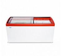 Ларь морозильный с гнутым стеклом Снеж МЛГ-600