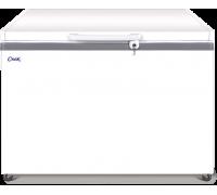 Ларь морозильный с глухой крышкой Снеж МЛК-350