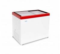 Ларь морозильный с прямым стеклом Снеж МЛП-350