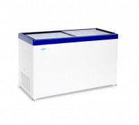 Ларь морозильный с прямым стеклом Снеж МЛП-500