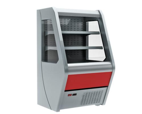 Холодильная горка Полюс Carboma 1260/700 ВХСп-0.7