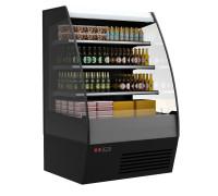 Холодильная горка Полюс Carboma 1600/875 ВХСп-1.3 (стеклопакет)