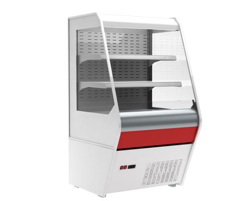 Холодильная горка Полюс Carboma 1260/700 ВХСп-0.7 (стеклопакет)