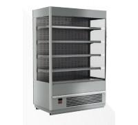 Холодильная горка Полюс Carboma Cube 1930/875 ВХСп-2.5 INOX