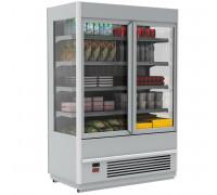 Холодильная горка Полюс Carboma Cube 1930/875 ВХСп-0.7 (со стекл.фронтом)