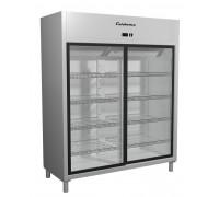 Шкаф холодильный Полюс Carboma R 1400K INOX (купе)